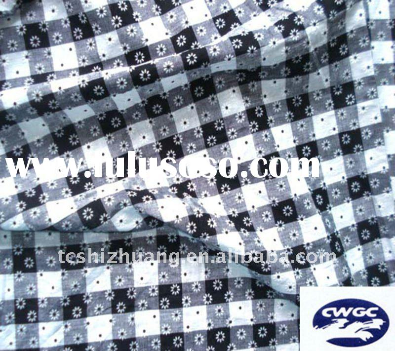 100% cotton stripe printed  fabric for T-shirt ,dress ,apparel fabric making