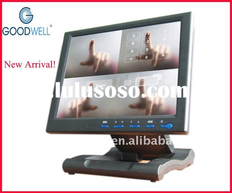 """10.4"""" Industrial 4 wire resisitive Touch LCD Monitor with AV, VGA, HDMI ,DIVI Input (GW1042AT)"""