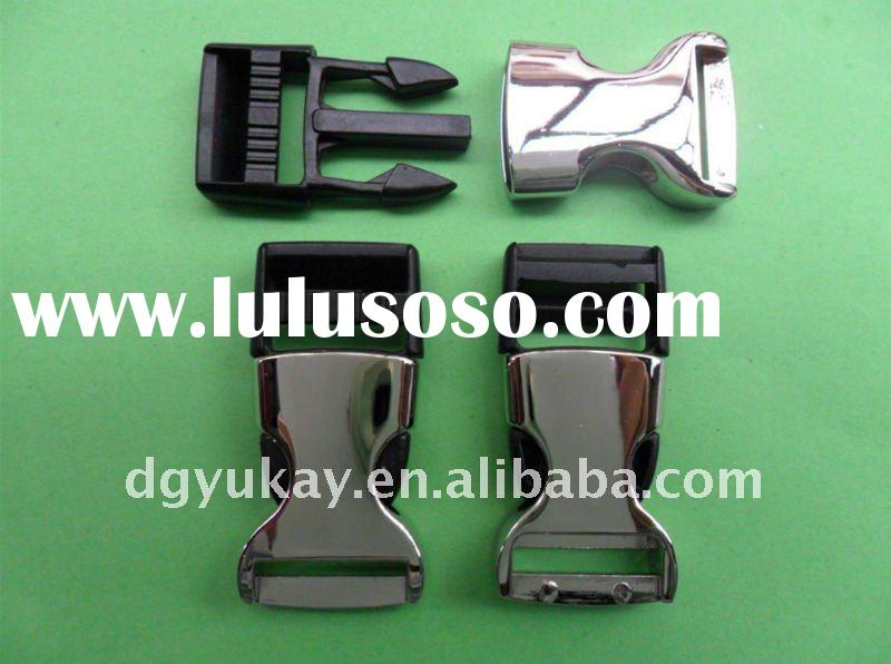 "3/4"" Plastic and Metal Side Release Buckle for Bag"