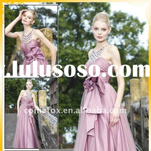 CONIEFOX 2011 Hot-sale Lovely Halter Ball Dress 80191