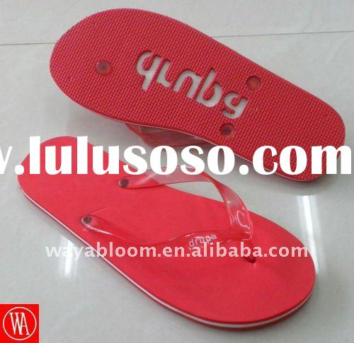 summer embossed beach promotion slippers