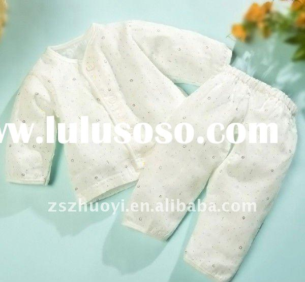 100% bamboo baby clothes set