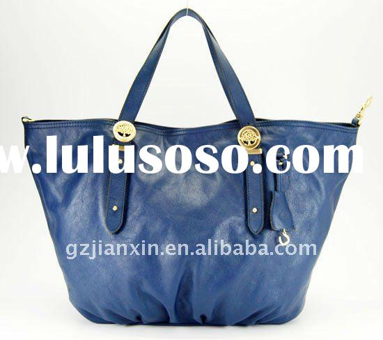 2011 latest fashion top quality best selling designer PU leather ladies bags handbags