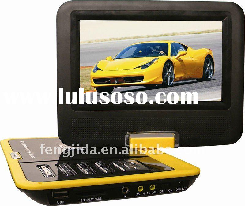 7 inch cheapest portable  DVD player TV