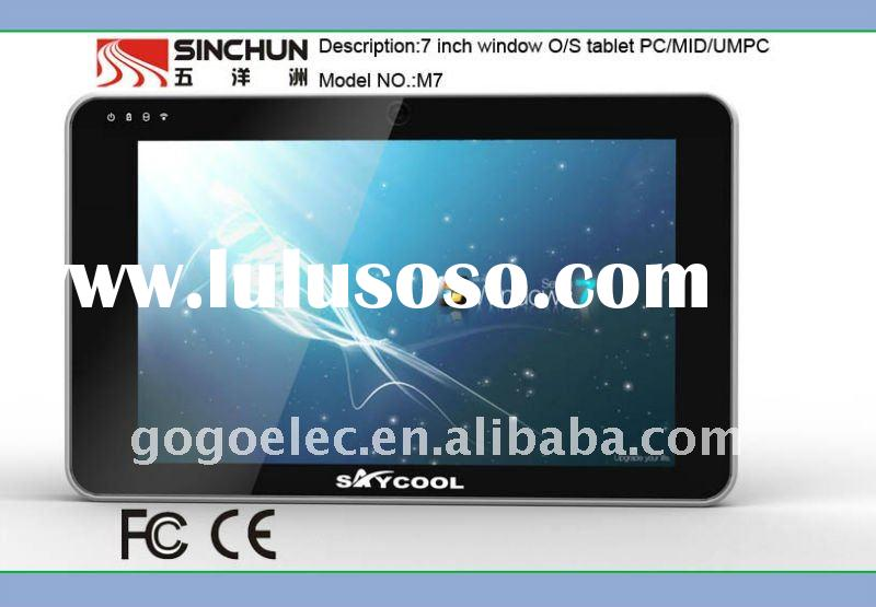 7inch TFT touch screen tablet PC/MID