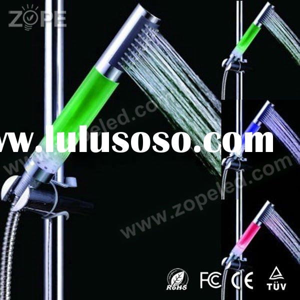 ABS Material Colorful Light Head Shower LED