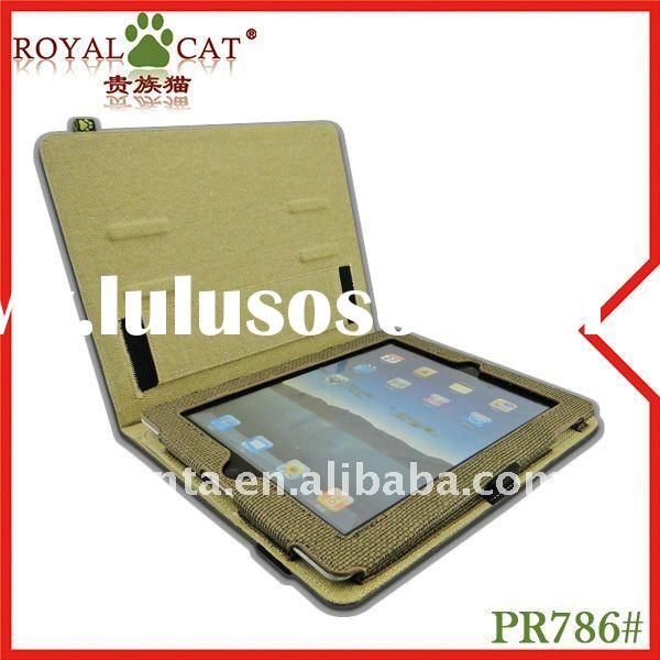 High quality leather case for ipad 2