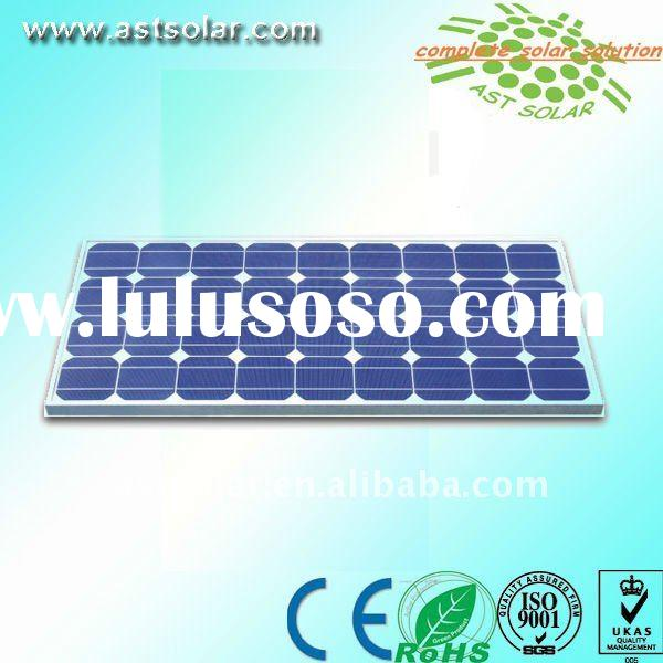 Monocrystalline solar panel with CE certificate