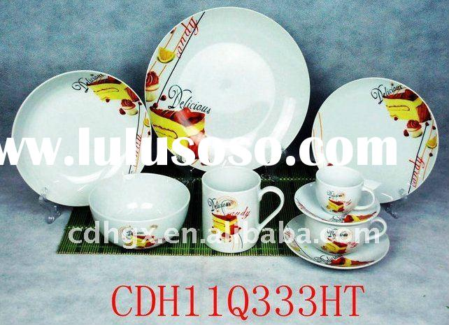 coup shape porcelain tableware open stock