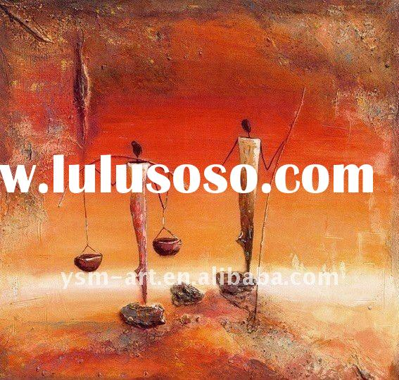 Abstract High quality oil painting