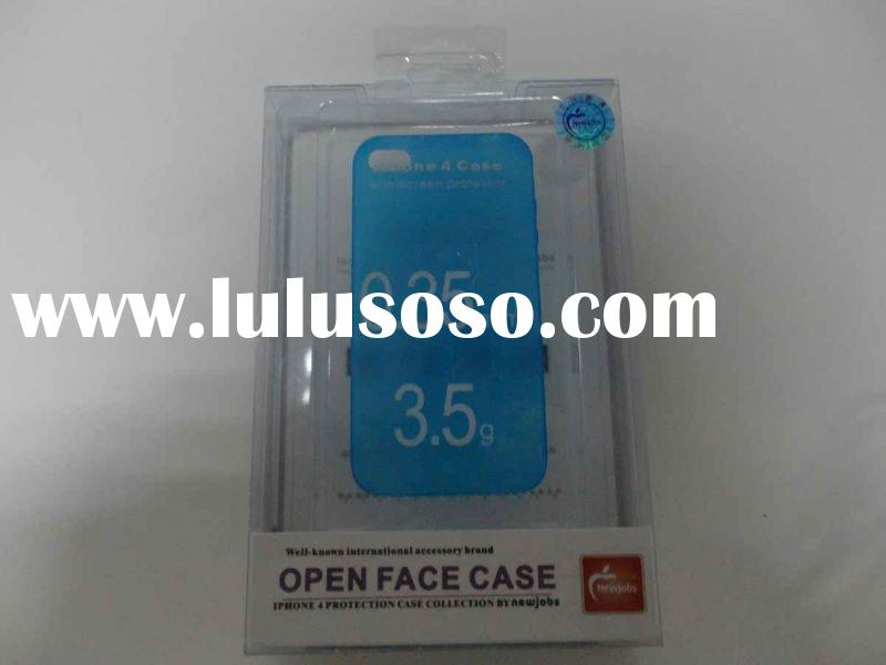 Best selling color plastic box for iphone4 case