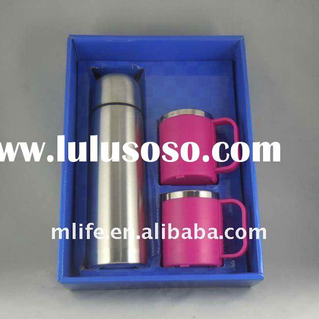 ECO friendly compact stainless steel gift mug