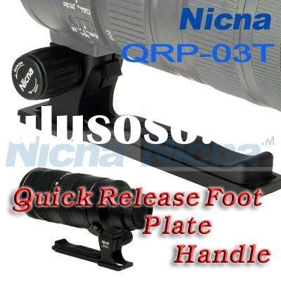 NEW!Free shipping!wholesale Nicna QRP-03T Quick Release Foot/Plate/Handle For Canon 70-200 VR VR2 F2