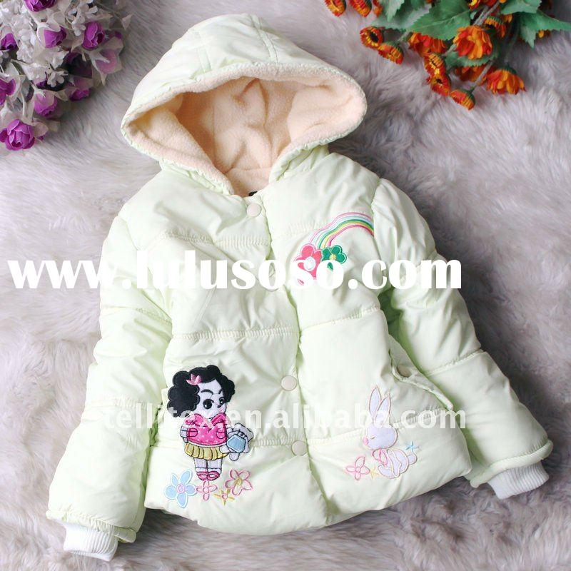 New Arrival Girls Lovely Embriodery Coats Korean Children Clothing Kid clothes Children Clothing