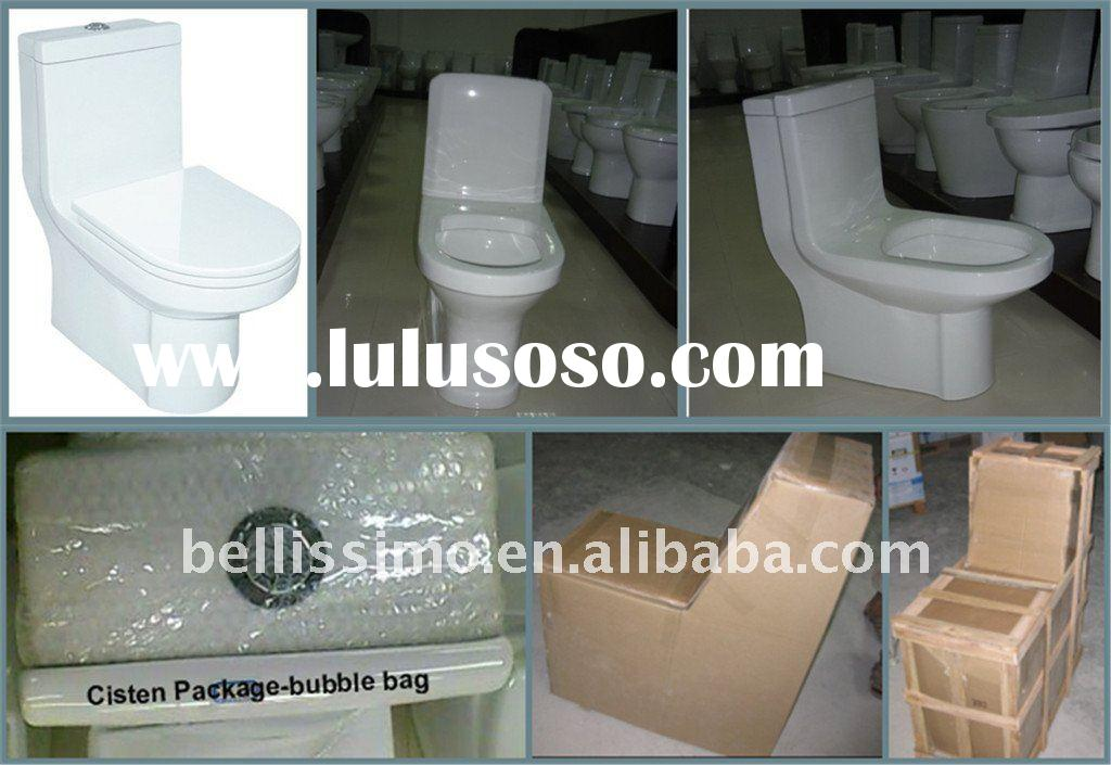 Siphonic Flushing One-piece Floor Toilet 3138