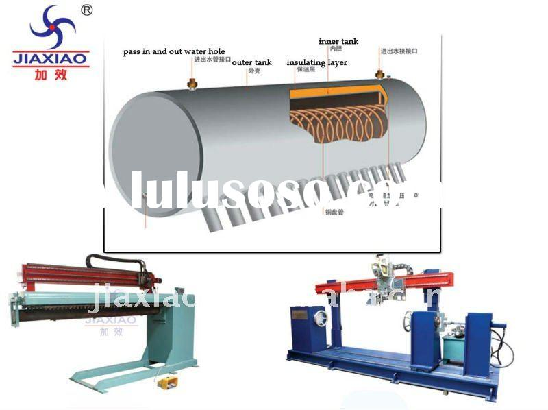 pressured solar water heater production equpments