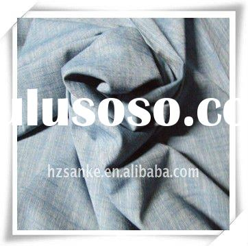 t/c denim slub fabric