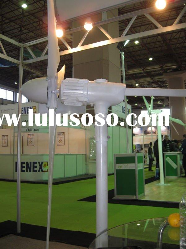 Small 750W Wind Turbine Show in Turkey Renex Exhibitions