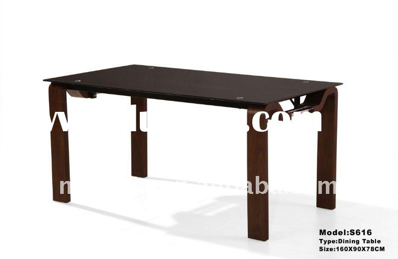 wooden dining table (S616)