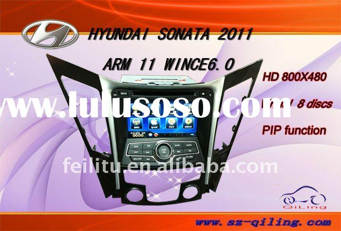 7'' in dash car dvd GPS for hyundai sonata2011