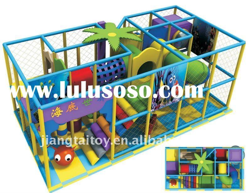 Naughty castle indoor playground for kids. T-7403