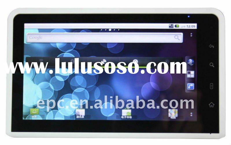 2011 hot pc tablet 7 inch Cortex A9 Capacitive multi touch  Renesas Dual-Core android tablet