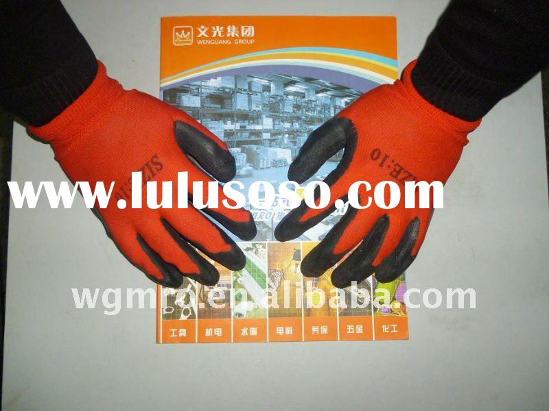 Colorful Latex Palm Dipped Working Gloves