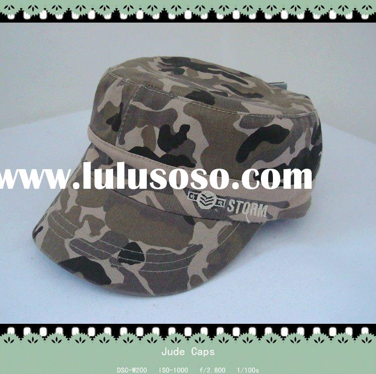 Fashion camouflage military cap