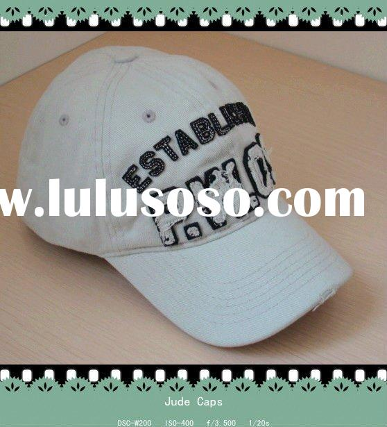 Fashion embroidery cotton cap