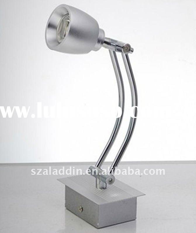 Stainless steel double arm design 3W 12volt or 220Volt mirror front lamp