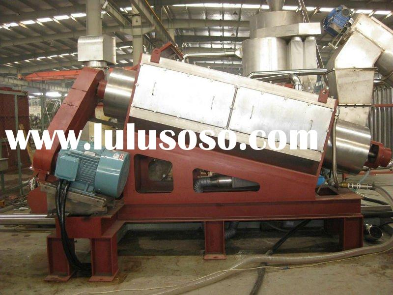 high speed washer for plastic