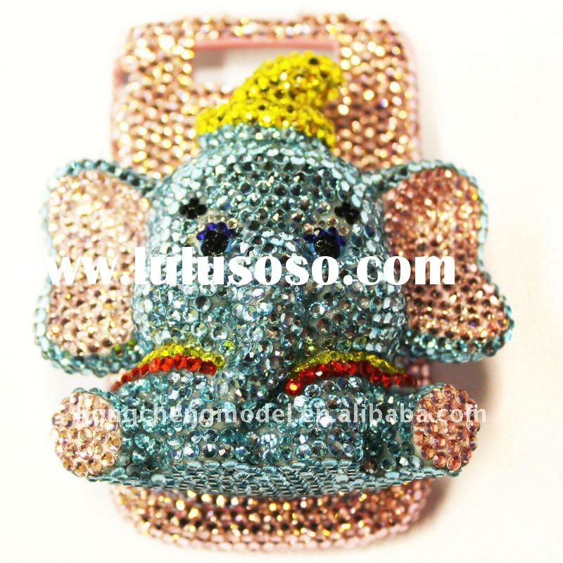 luxurious bling mobile phone case for blackberry 9700
