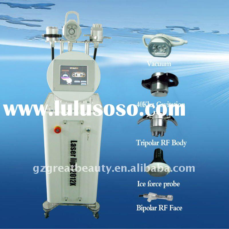 2011 New Arrival Cavitation Slimming Machine with RF & Vacuum & Cryotherapy