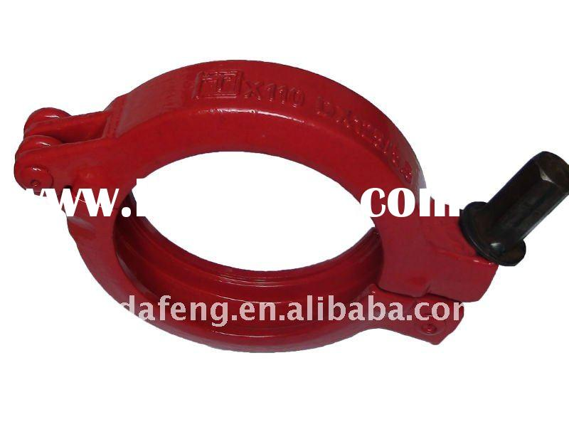Sany dn inch quick hose clamp mechanical clamps for