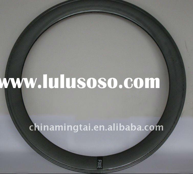 High copy Carbon fiber  alloy rim 60mmH alloy fixed bike rim (The New)