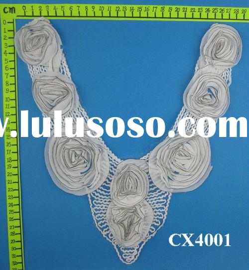 Latest Fashion Chiffon Neck Lace