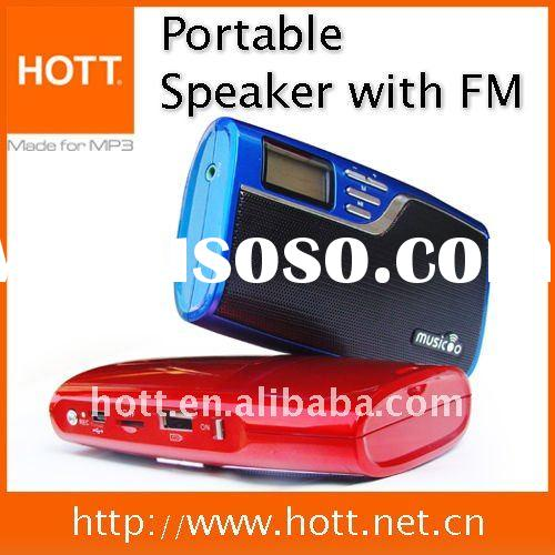 TF Card Reader Mini Speaker