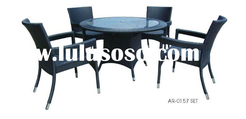 all  weather out door furniture dining set  AR-0157set