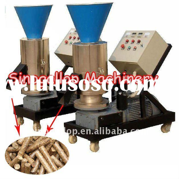 wood pellet fuel making machine