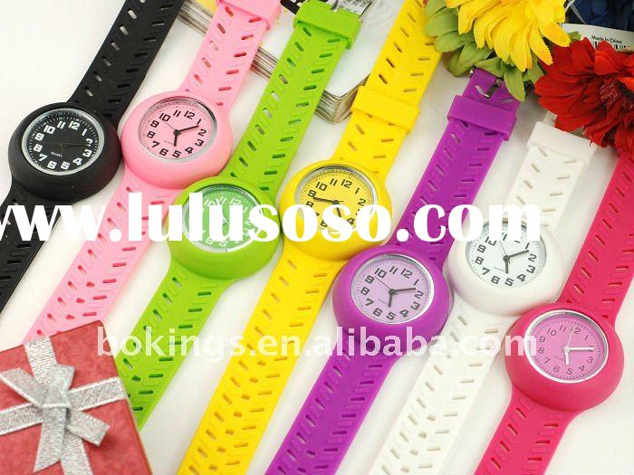 2011 Hot Seller Fashion Silicone Jelly Sport Watch