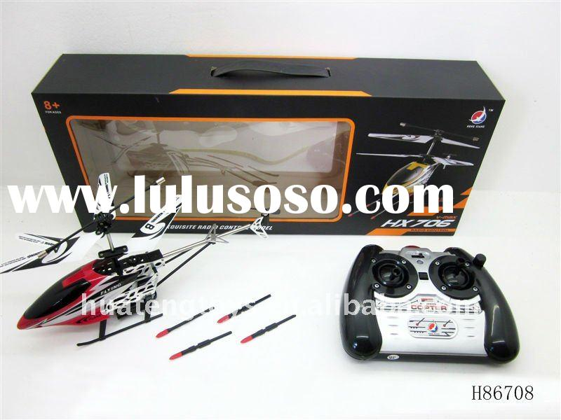2011 Hottest! 3.5 channel Launching Missile R/C helicopter H86708