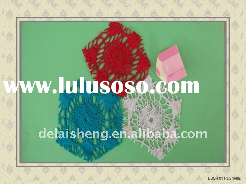 POPULAR COTTON LACE FABRIC FOR FASHIONS