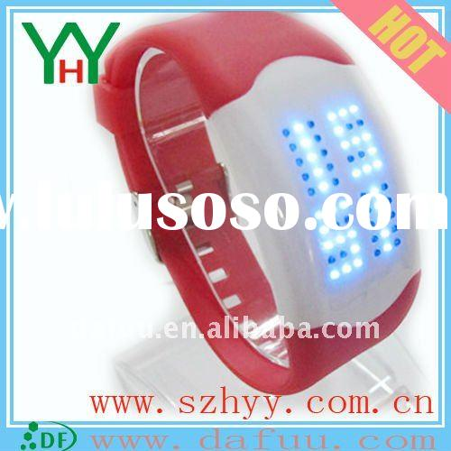 Silicone LED Touch Screen Watch,touch led watch ,Christmas gifts