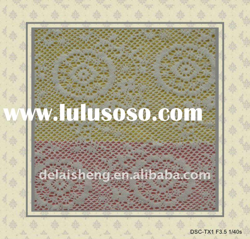 WELCOMED COTTON LACE FABRIC F