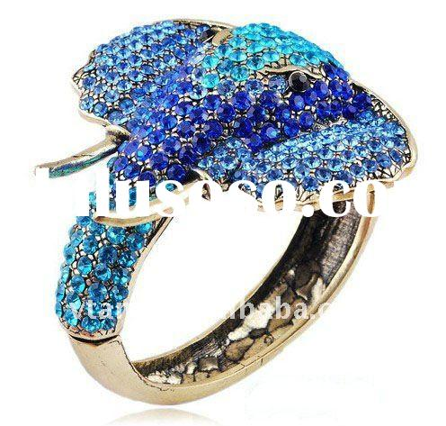 newest classical lovely elephant with crystal bangle