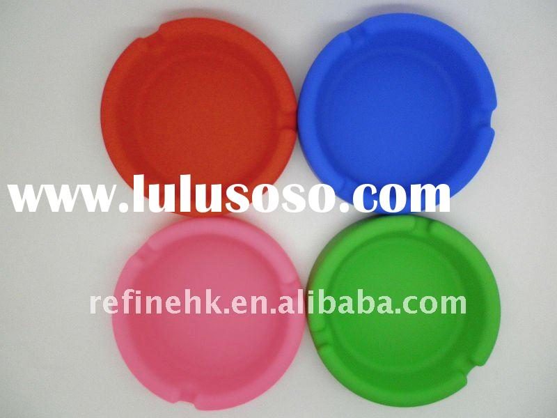 silicone cute lovely colorful Ashtray Easy to wash clean Light weight flexible durable