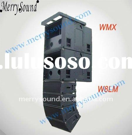 speaker enclosures, line array speaker, Martin audio (W8LM)