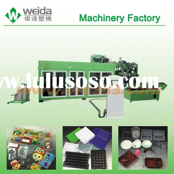 Automatic plastic absorbing productiong line