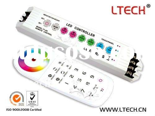 LED RGB controller &LED controller LED color touch controller