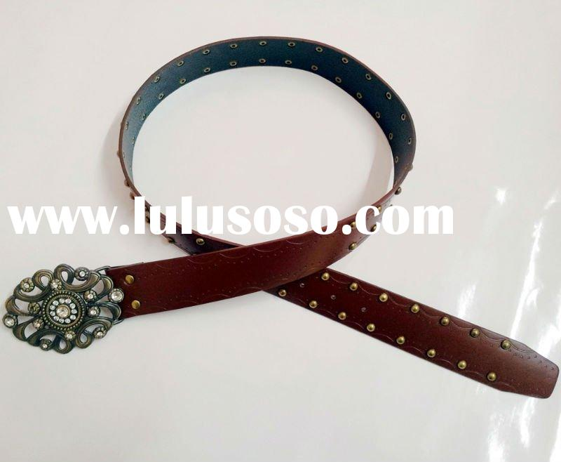 Fashion PU belt for lady